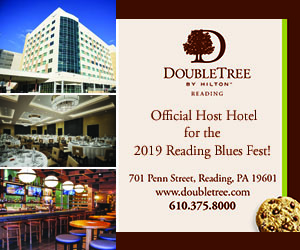 DoubleTree by Hilton Reading: Official Host Hotel for the 2019 Reading Blues Fest