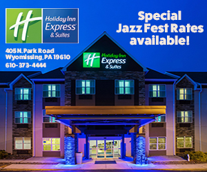Ad for Holiday Inn Express and Suites, Wyomissing, PA