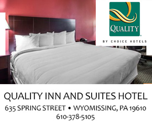 Ad for Quality Inn and Suites Hotels