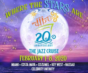Ad for The Jazz Cruise, February 1-8, 2020