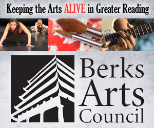 Banner ad for Berks Arts Council