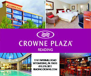 Ad for Crowne Plaza Reading